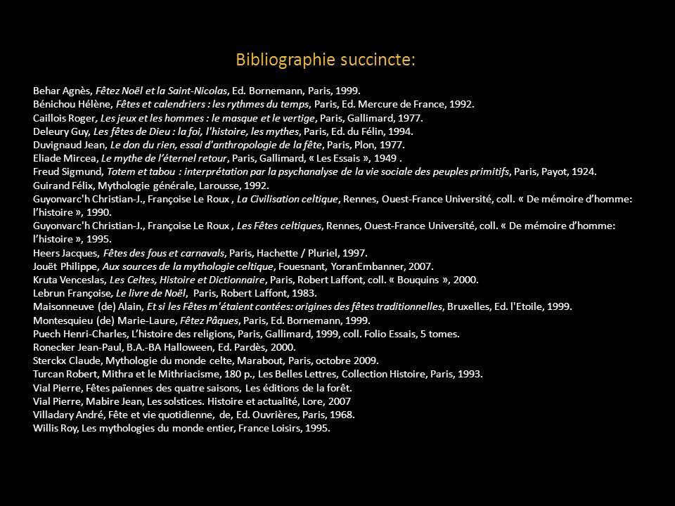 Bibliographie succincte: Behar Agnès, Fêtez Noël et la Saint-Nicolas, Ed. Bornemann, Paris, 1999. Bénichou Hélène, Fêtes et calendriers : les rythmes