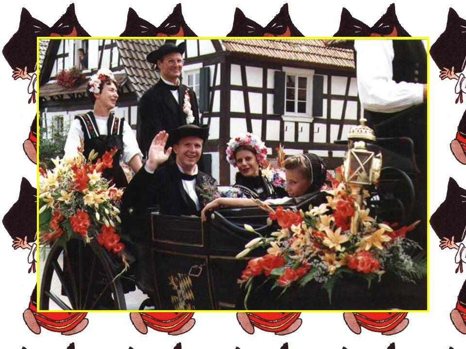 S il est une fête en Alsace qu il faut recommander aux touristes, c est assurément la «Streisselhochzeit» de Seebach.