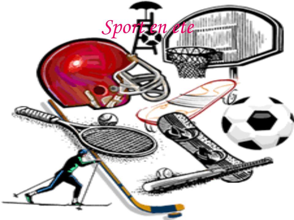 Sport en ete