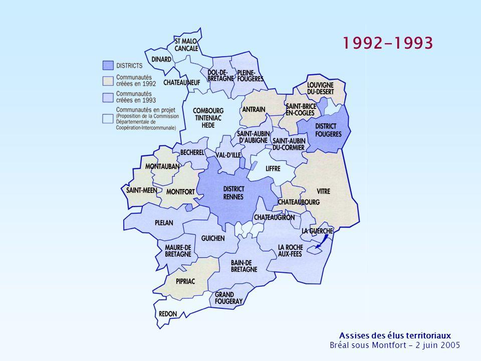 Assises des élus territoriaux Bréal sous Montfort - 2 juin 2005 2004