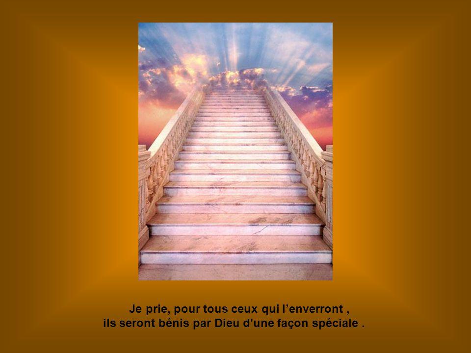 Je prie, pour tous ceux qui lenverront, ils seront bénis par Dieu d une façon spéciale.