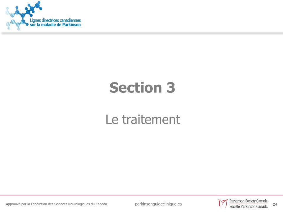 24 Le traitement Section 3