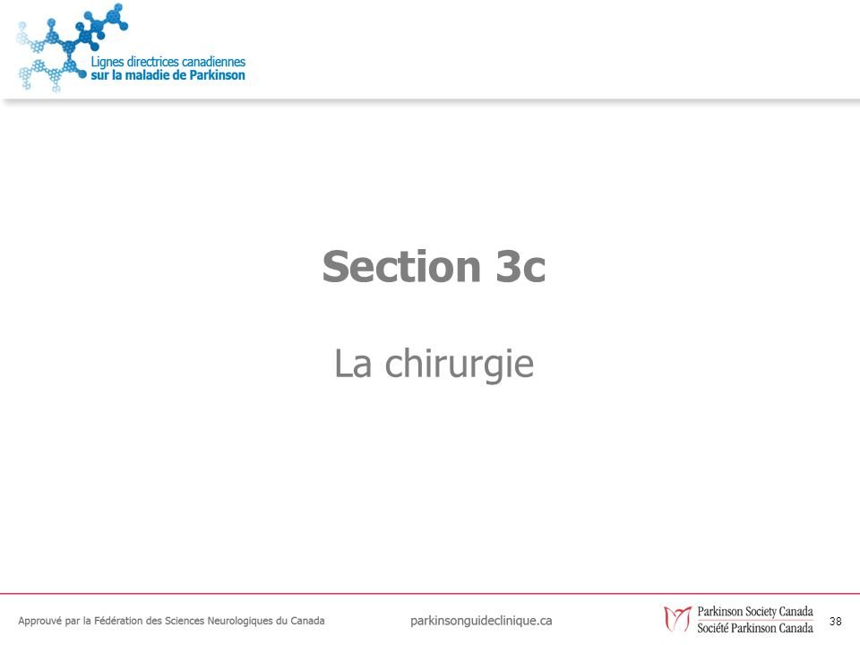 38 La chirurgie Section 3c