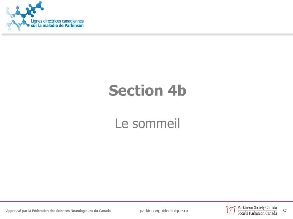 57 Le sommeil Section 4b