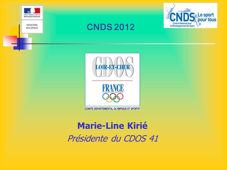 CNDS 2012 SOIREES D ACCOMPAGNEMENT « Formalisation dun projet associatif » LUNDI 30 JANVIER - Vendôme 18h - 21h (locaux de l USV) MARDI 31 JANVIER - Blois 18h - 21h (Maison du Sport) MERCREDI 1 er FEVRIER - Selles s/ Cher 18h - 21h (Centre de Loisirs)