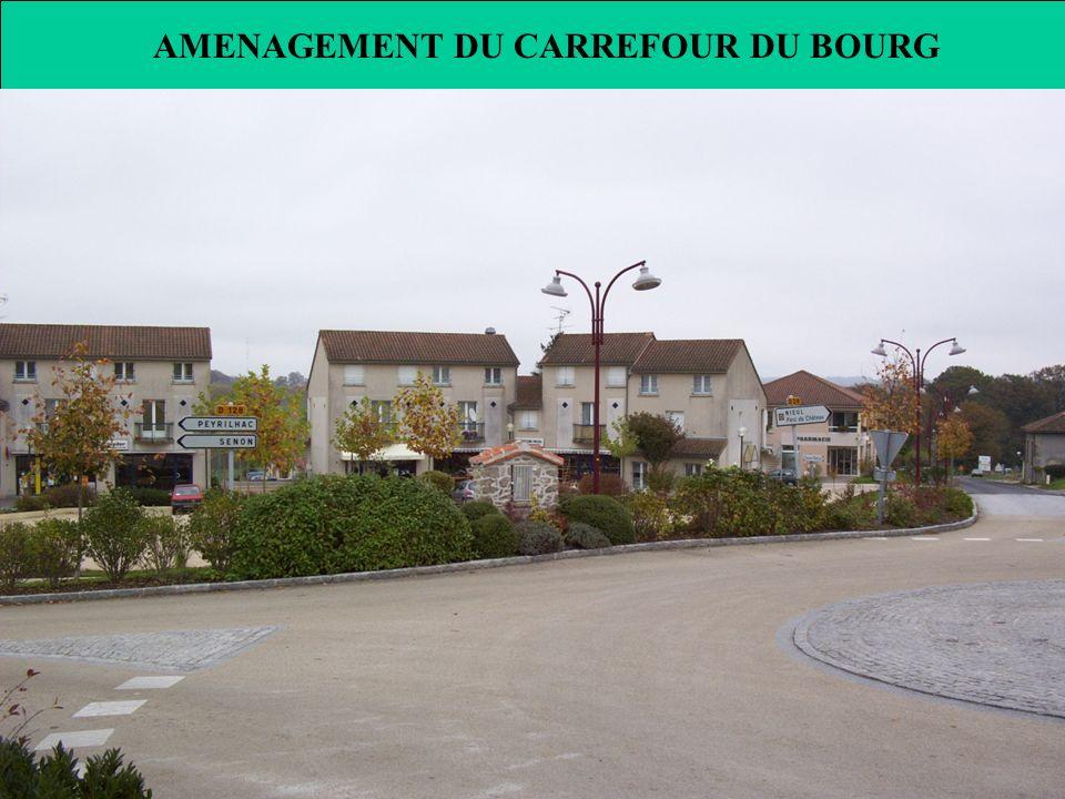 AMENAGEMENT DU CARREFOUR DU BOURG