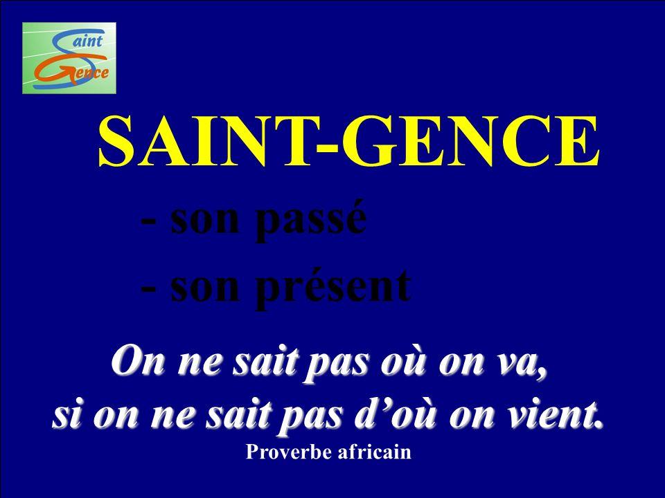 On a toujours trouvé des amphores à Saint-Gence .