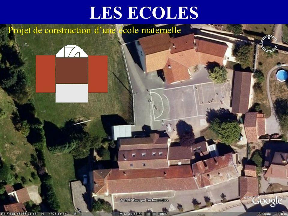 LES ECOLES Projet de construction dune école maternelle