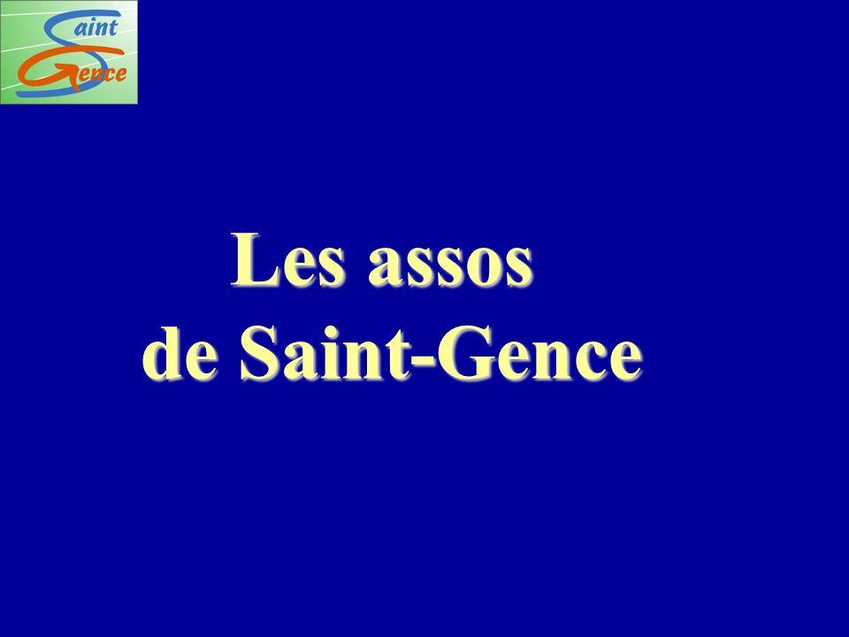 Les assos de Saint-Gence