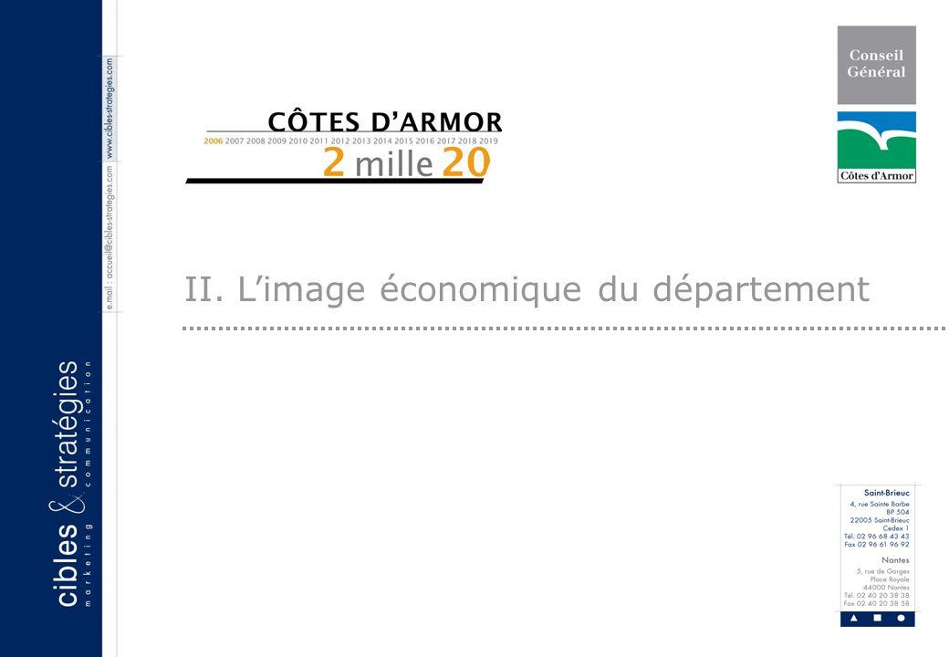7 II. Limage économique du département