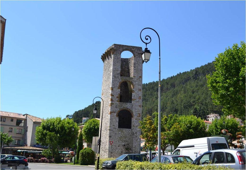 La plus ancienne porte De Sisteron.
