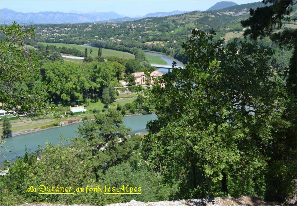 Toujours du départ pour la citadelle, vue sur Sisteron
