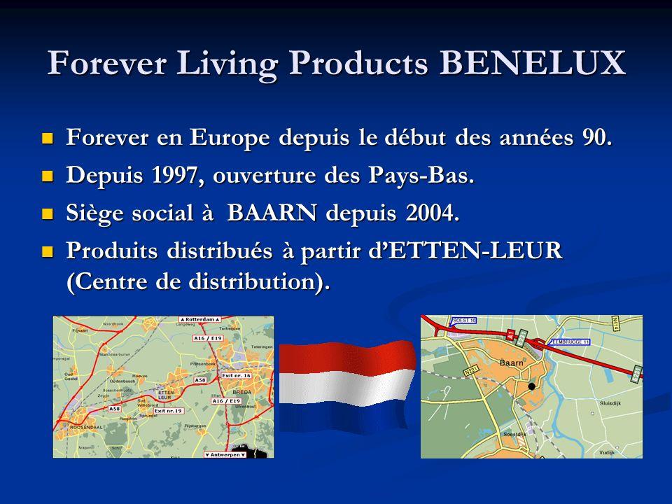 Forever Living Products BENELUX Forever en Europe depuis le début des années 90.