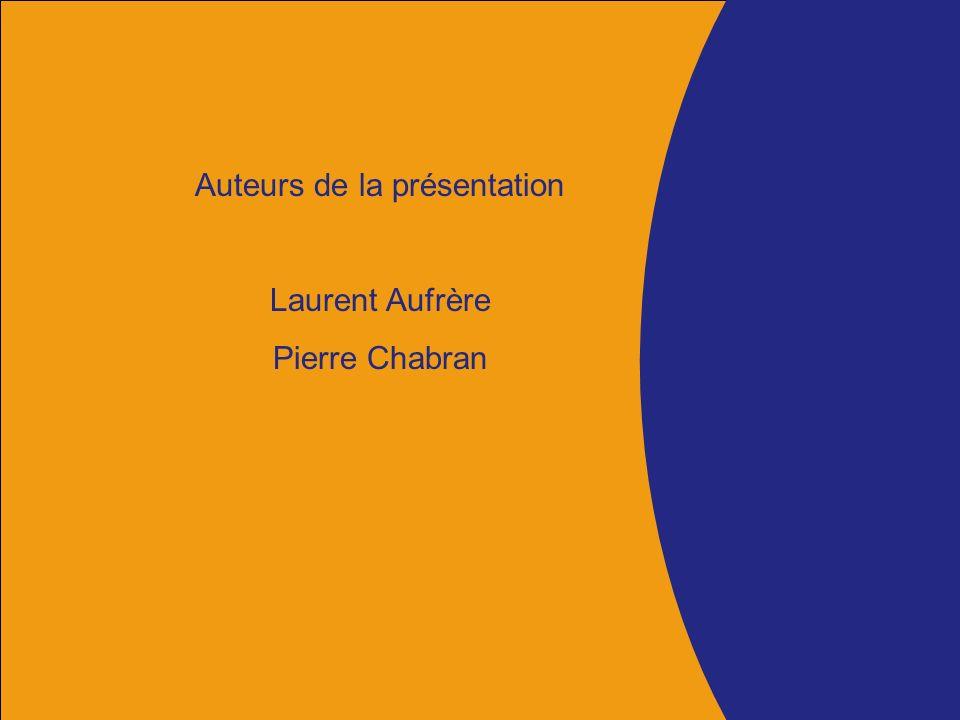 > Nom de la direction émettrice (à renseigner dans le masque de titre) Département de lHérault Auteurs de la présentation Laurent Aufrère Pierre Chabran