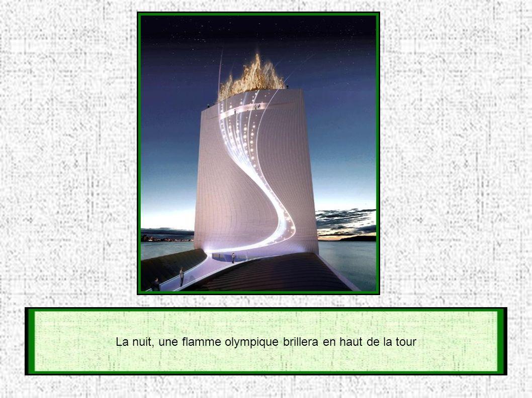 Un ascenseur conduit aux divers observatoires, et à une plate-forme rétractable pour la pratique du Bungee (saut à l élastique)