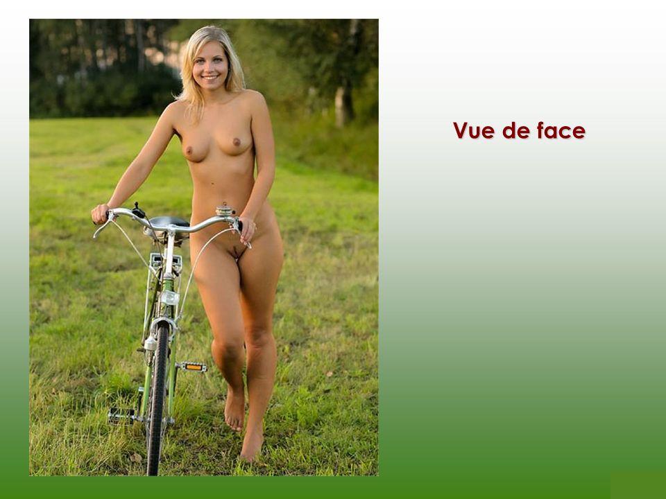 Vue complète de la bicyclette
