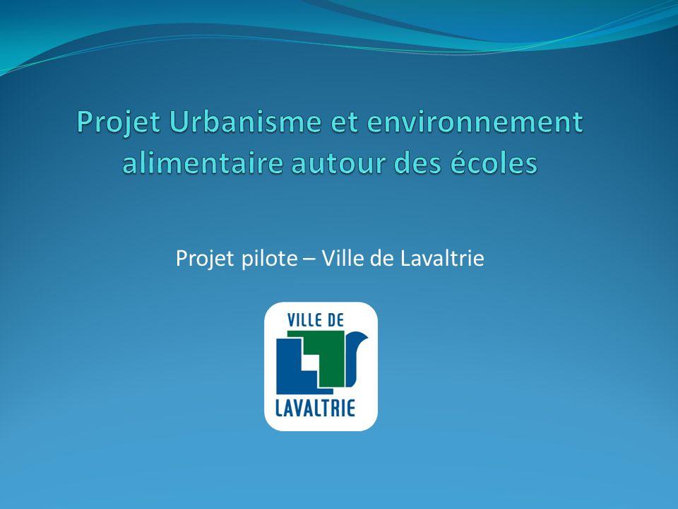 Projet pilote – Ville de Lavaltrie