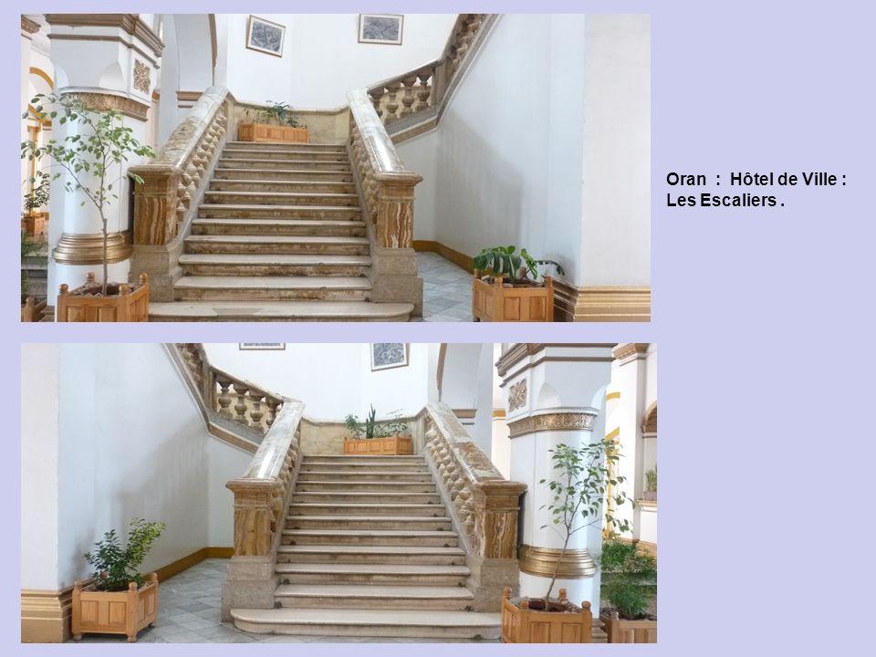 Oran : Hôtel de Ville - dans le Hall d Entrée.