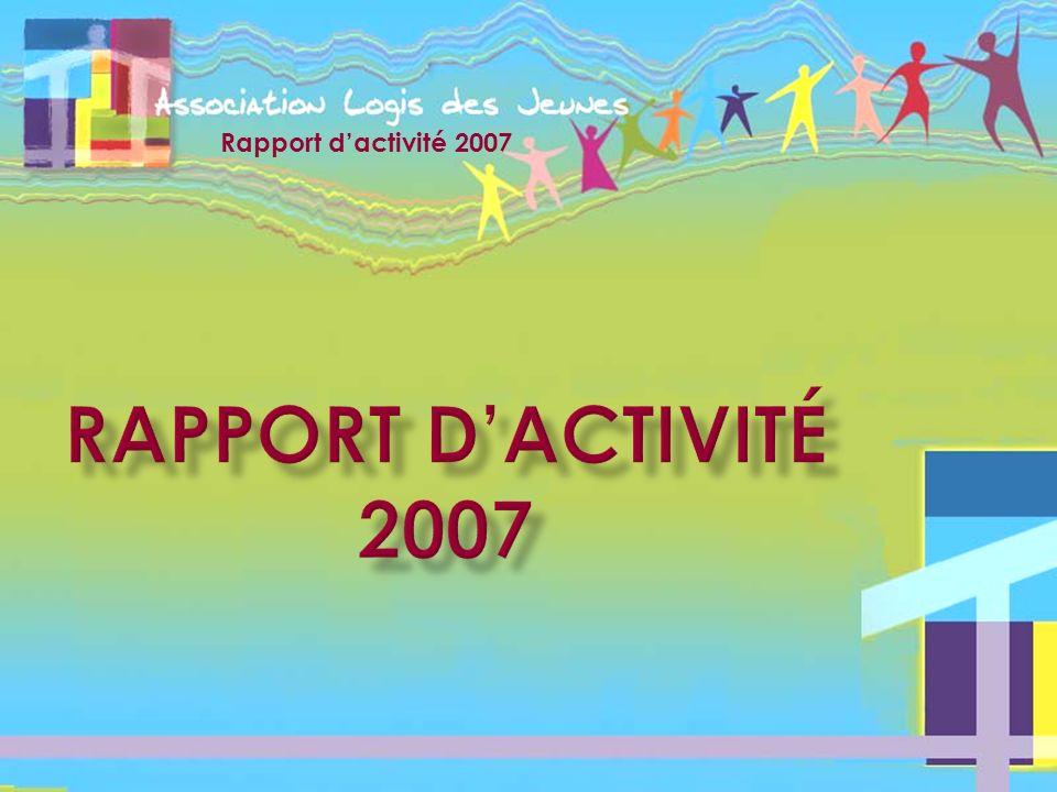 Rapport dactivité 2007 Accompagner retour au menu Mettre en œuvre le projet On constate quun plus grand nombre de jeunes quittent Pau pour sinstaller sur dautres département ou régions.