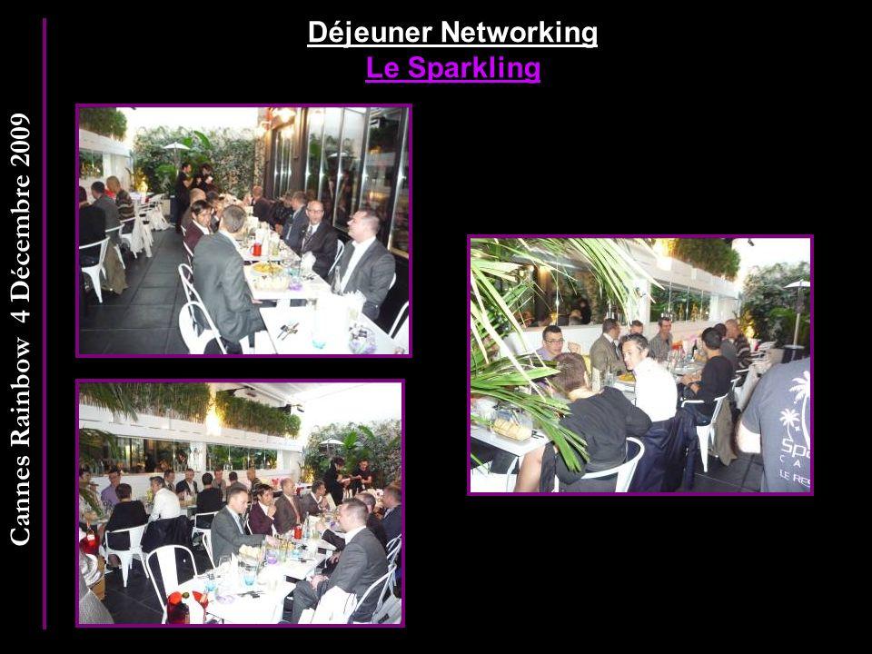 Cannes Rainbow 4 Décembre 2009 Déjeuner Networking Le Sparkling