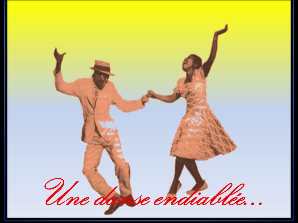 Une danse endiablée…