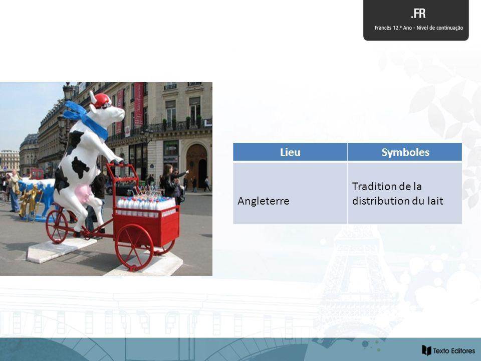 Lieu Symboles Angleterre Tradition de la distribution du lait