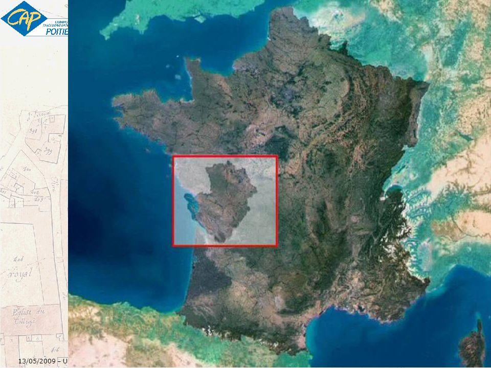 4 13/05/2009 – Un Référentiel adresses pour le SIG de la CAP - v1 – Rédacteur : Jean-Michel PIGNON jean-michel.pignon@agglo-poitiers.fr