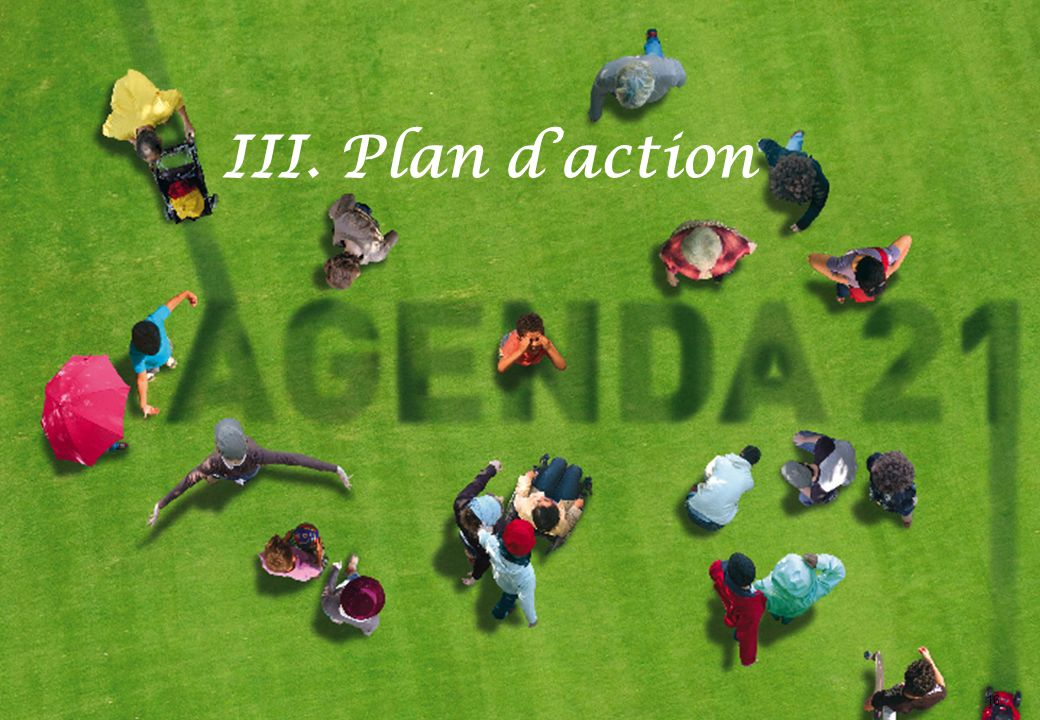 16 III. Plan daction