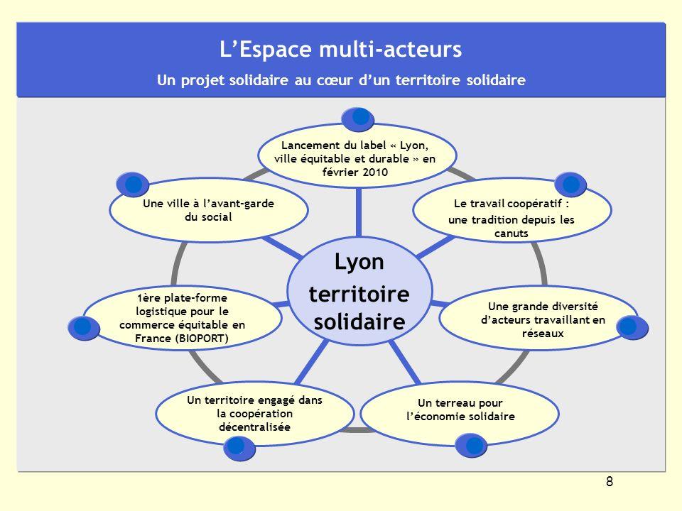 8 Lyon territoire solidaire Une ville à lavant-garde du social Le travail coopératif : une tradition depuis les canuts Un territoire engagé dans la co