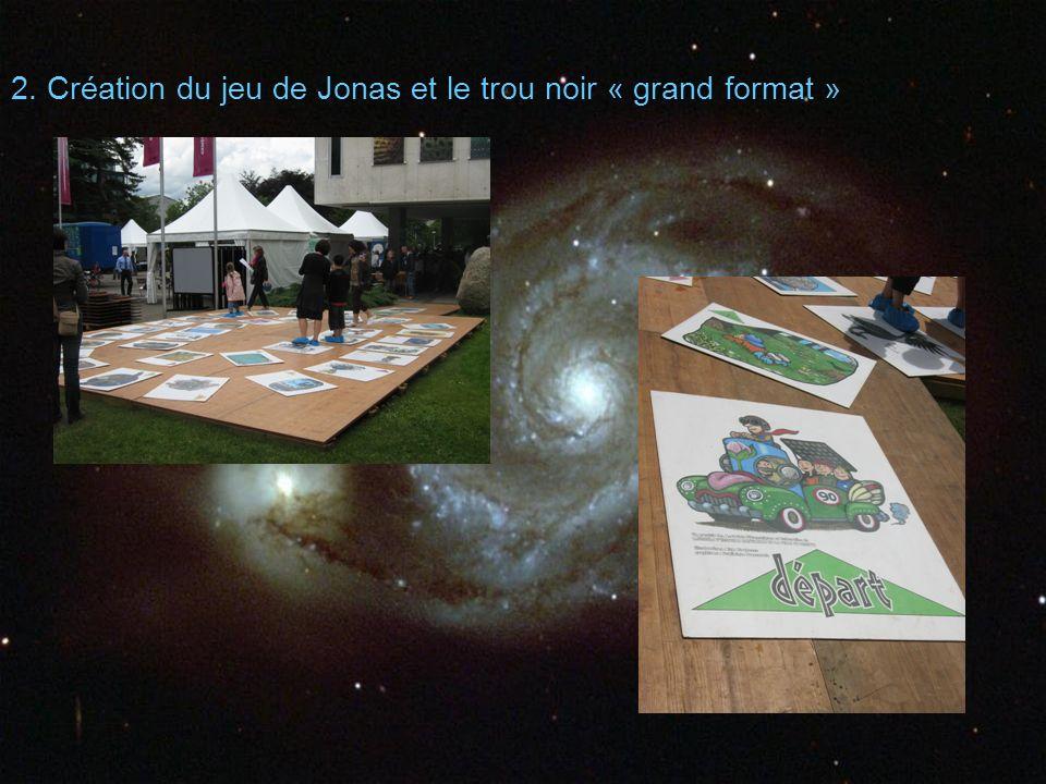 2. Création du jeu de Jonas et le trou noir « grand format »
