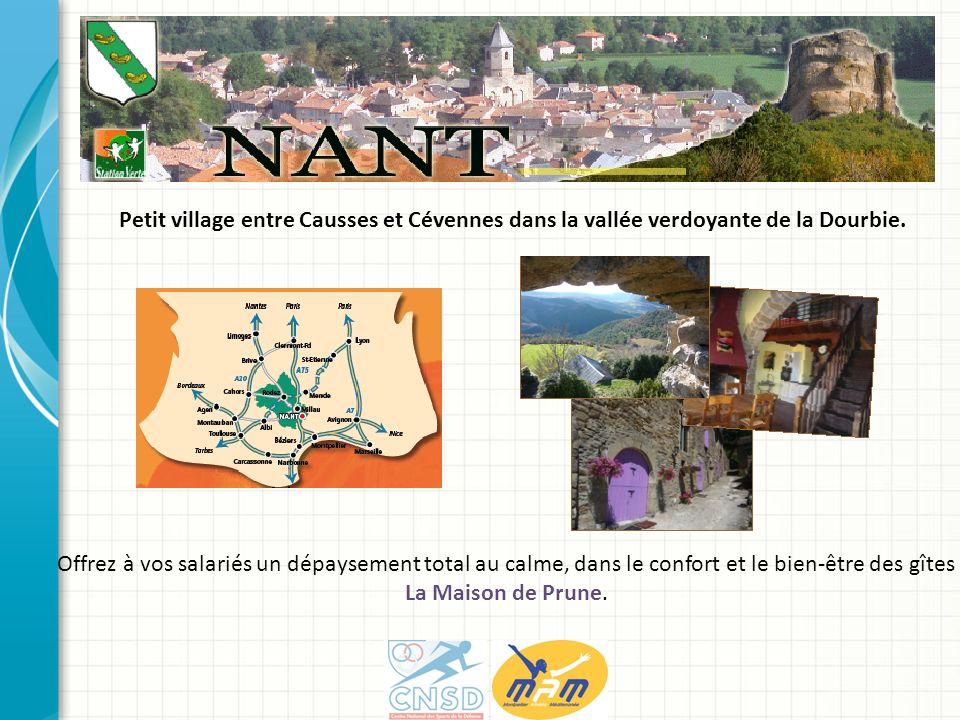 Petit village entre Causses et Cévennes dans la vallée verdoyante de la Dourbie. Offrez à vos salariés un dépaysement total au calme, dans le confort