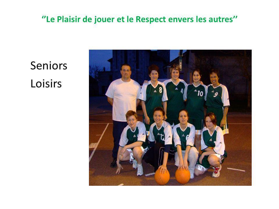 Le Plaisir de jouer et le Respect envers les autres Seniors Loisirs