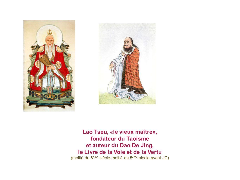 Le gardien Yin Xi demande à Lao Tseu de rédiger le Dao De Jing