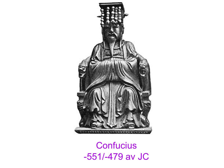 Mencius Confucius Lordre (familial et social), le respect de lautre, la pratique des vertus Une morale et une sagesse plus quune religion Équilibre, Harmonie, Perfection