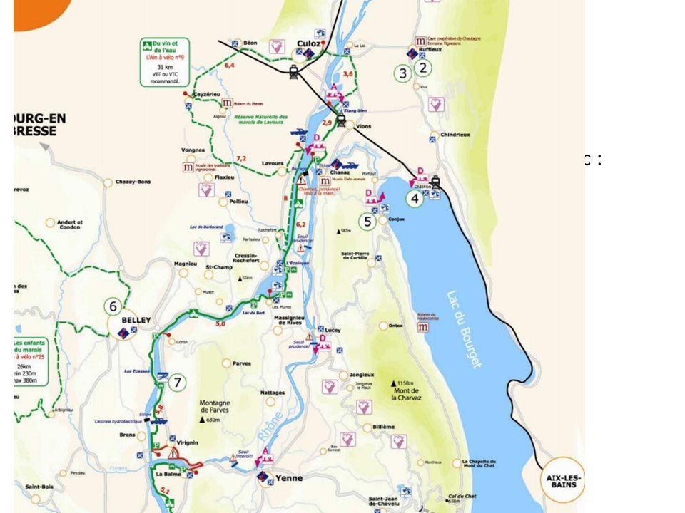 Anticiper les futurs aménagements touristiques Chanaz deviendra un carrefour touristique majeur avec : la vélo-route la voie verte la voie bleue la mi