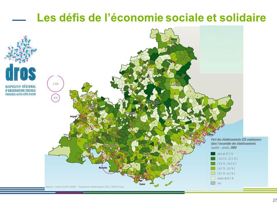 27 Les défis de léconomie sociale et solidaire