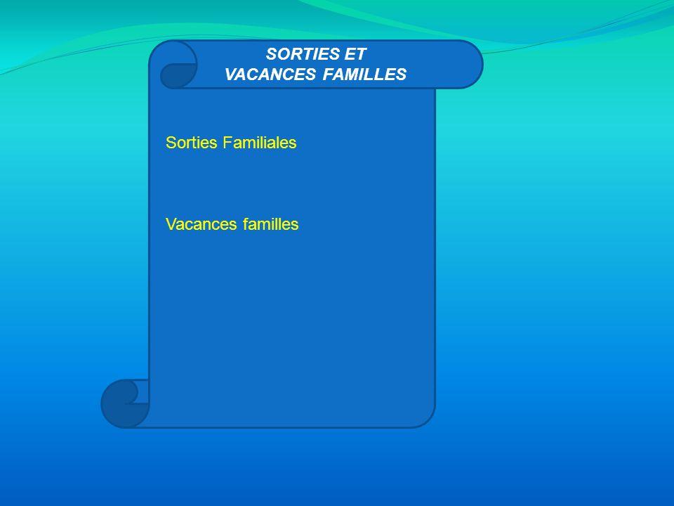EDUCATION ET PARENTALITE « Familles en vadrouille » Accueil Enfants-Parents Rencontres/Débats à thèmes