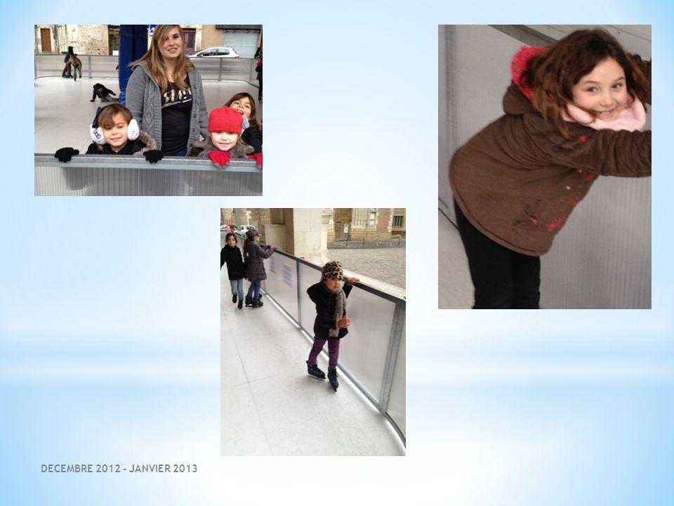 DECEMBRE 2012 - JANVIER 2013 LE SPORT : QUELLE FATIGUE MAIS QUELLE JOIE !!!!!!