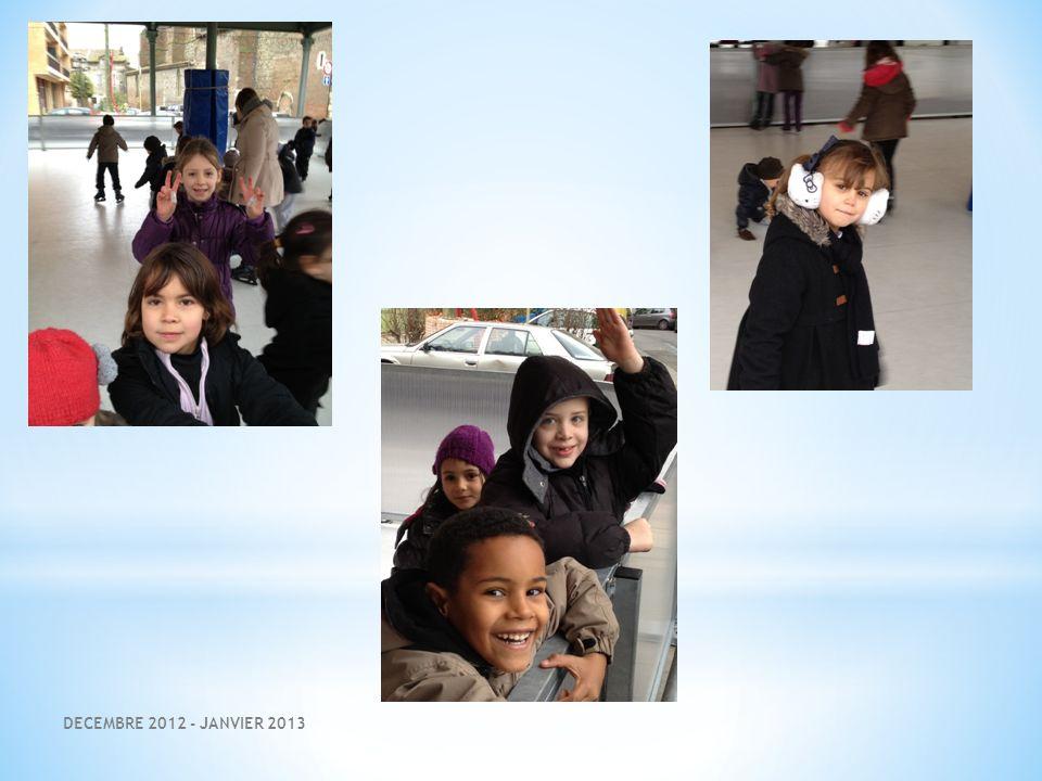 DECEMBRE 2012 - JANVIER 2013