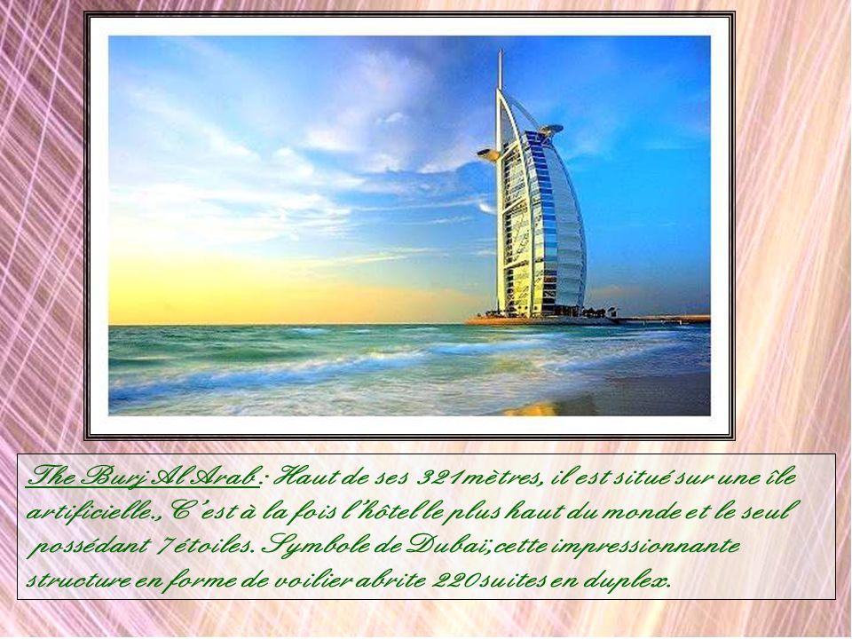 Dubaï Sports City : Cet immense complexe sportif de 7.5 km2 accueillera des sports tels que le cricket, le golf, le rugby le football, les sports de t