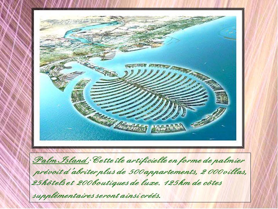 Medinat Al Arab : Voici la représentation de lun des quartiers du futur plus grand front de mer au monde, le Dubaï Waterfront. Cette vue rend compte d