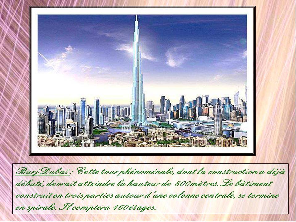 The World : Au large de Dubaï près de 300 îles artificielles formeront un planisphère où figureront tous les pays du monde. Si vous voulez acquérir un