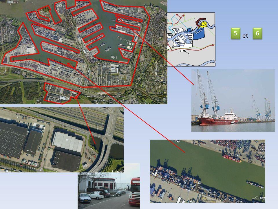 11 14 Nord Mer du Nord 2 km Nieuwe Waterweg 9 10 9 9 11 8 5 6 7 12 13 5 5 6 6 et