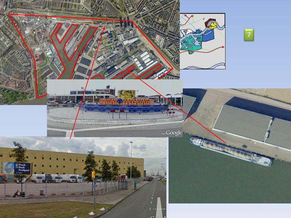 11 14 Nord Mer du Nord 2 km Nieuwe Waterweg 9 10 9 9 11 8 7 12 13 Les aménagements du port de Rotterdam 7 7