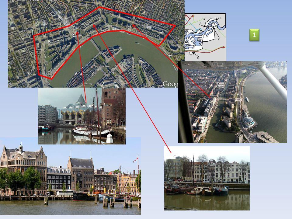14 Nord Mer du Nord 2 km Nieuwe Waterweg 13 et 14