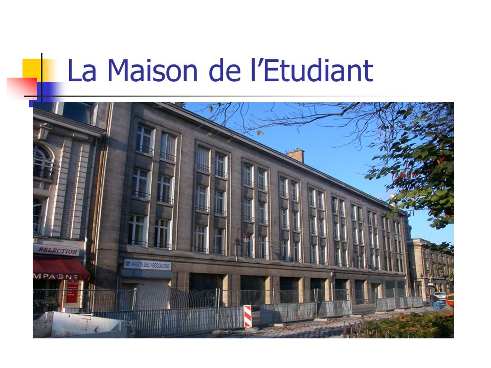 La Maison de lEtudiant
