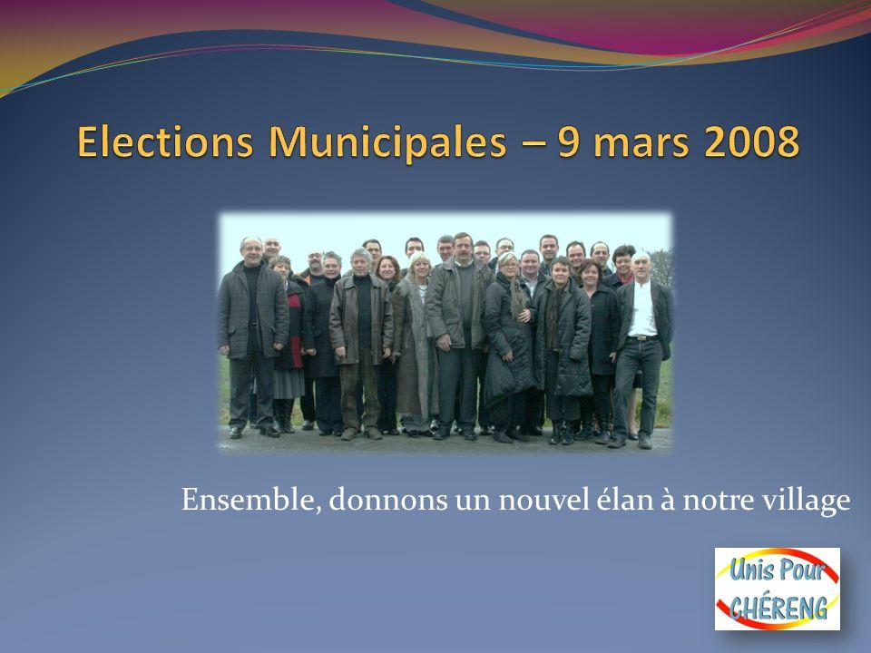 Message de Pascal ZOUTE Chérengeoises, Chérengeois, Après 6 ans comme conseiller municipal délégué et 13 ans comme Maire-adjoint, je me présente à nouveau à vos suffrages avec une liste différente.