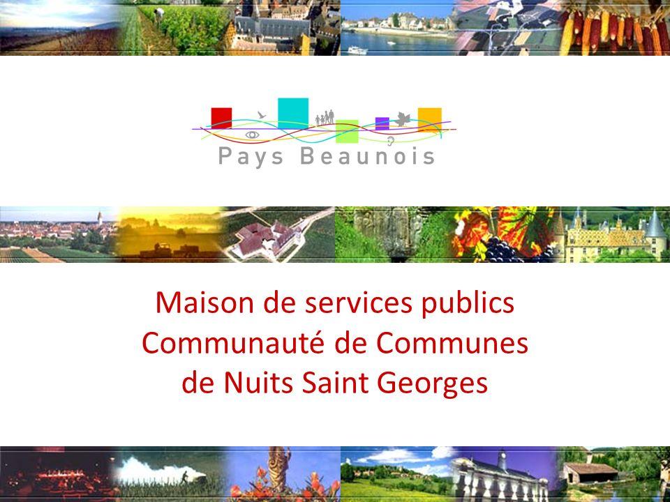 1 Maison de services publics Communauté de Communes de Nuits Saint Georges