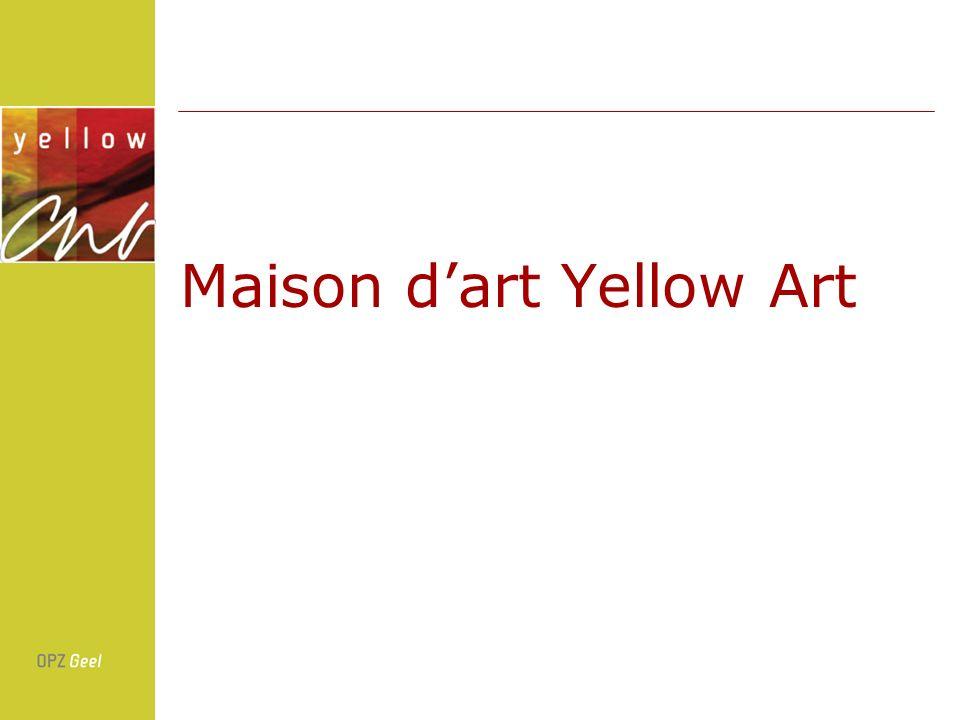 Maison dart Yellow Art