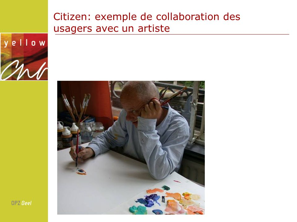 Citizen: exemple de collaboration des usagers avec un artiste
